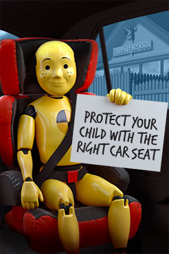 select the right child seat
