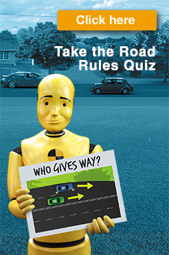 Take the road rules quiz